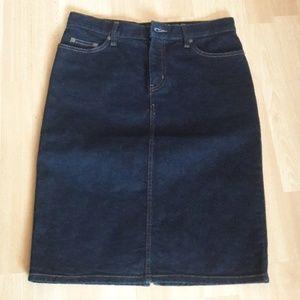 Lauren Jeans Co. denim skirt